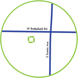 Battlefield Road Map Circle