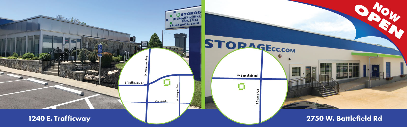 Location Of Climate Controlled Self Storage